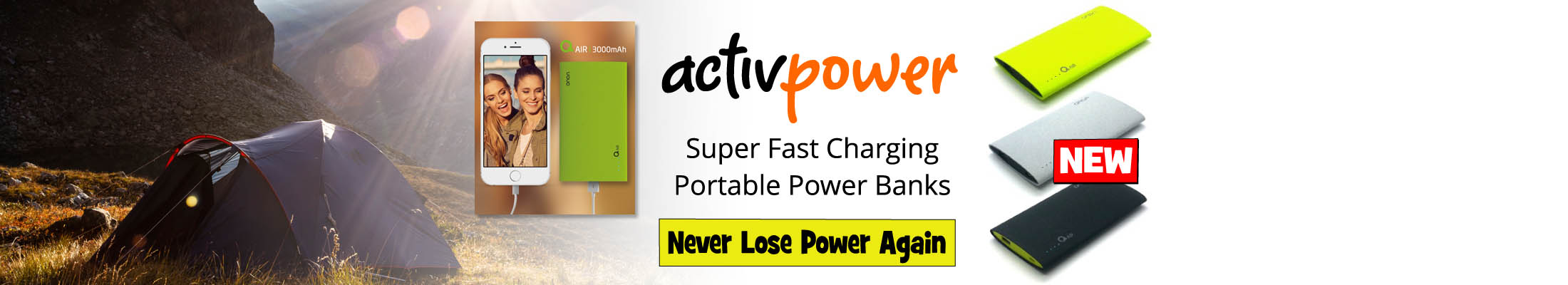 Fast Charging Portable Power Banks