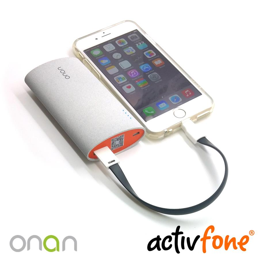Onan 5000mAh Q3 Power Bank - Grey